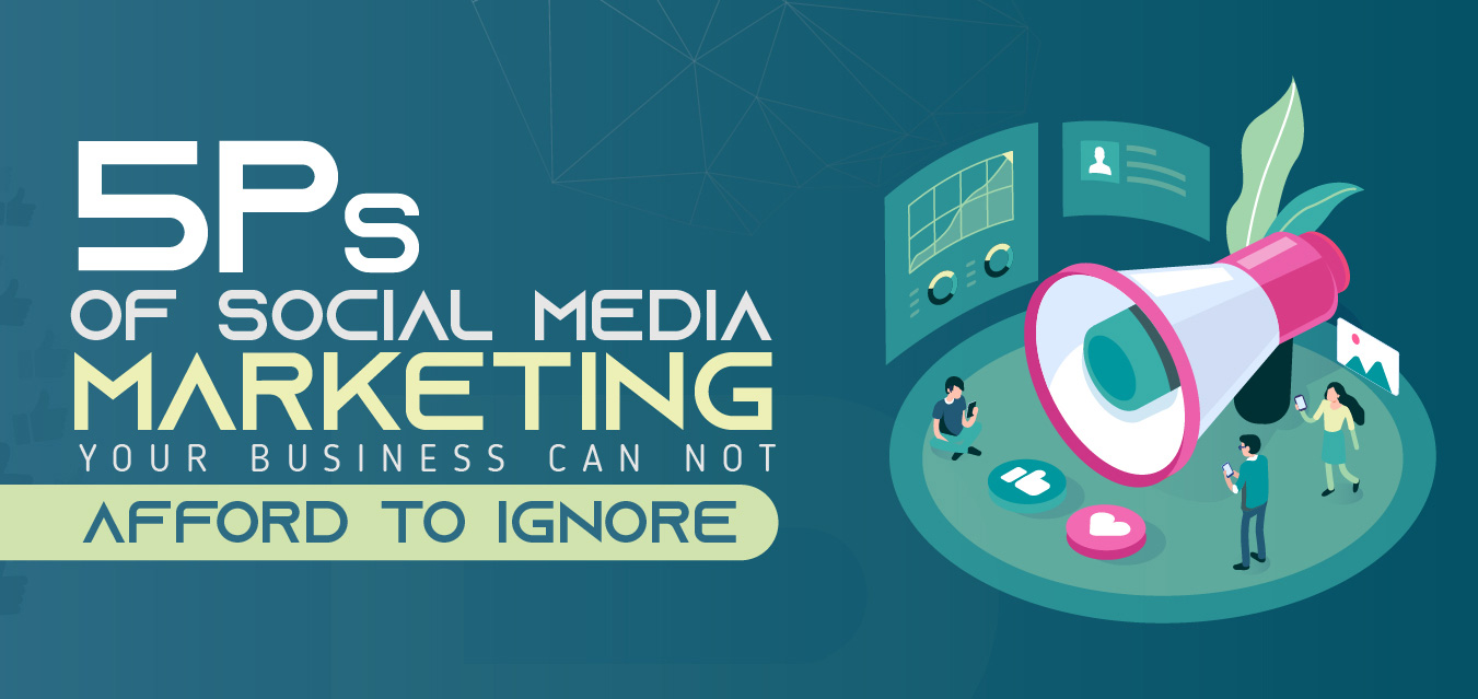 5 P's of Social Media Marketing Your Business Can Not Afford to Ignore – Infographics